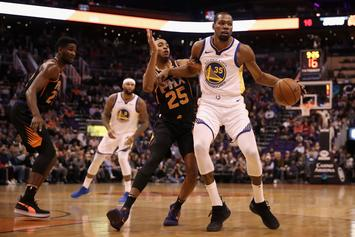 Kevin Durant Says Warriors Have a New Found Rivalry With The Sacramento  Kings 017c7da1e