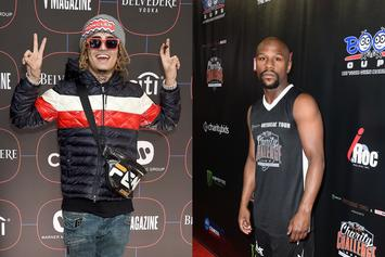 Lil Pump Planning A Month-Long Vacation With Floyd Mayweather