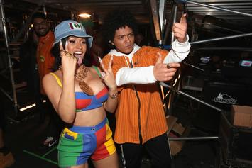 """Cardi B & Bruno Mars Earn Second Top 10 Single Together With """"Please Me"""""""