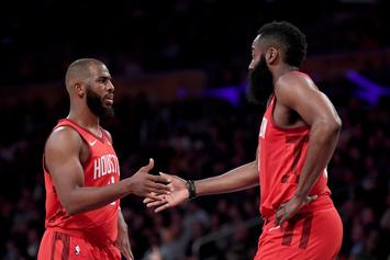 James Harden's 30-Point Streak Comes To An End Against The Hawks