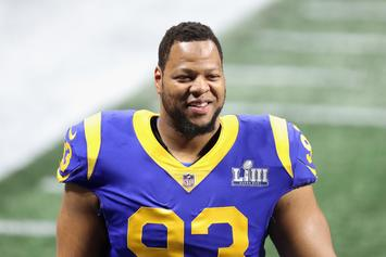 "Ndamukong Suh Says ""We'll See"" About Future With The Rams"