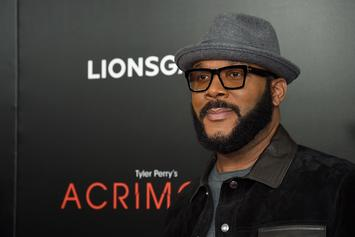 """Tyler Perry Says Farewell To Beloved Character Madea At """"Family Funeral"""" Premiere"""