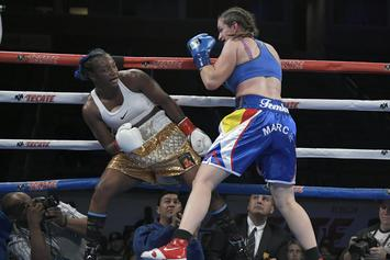 "Claressa Shields Says She Would Wash Amanda Nunes: ""I T-Rex B****es"""