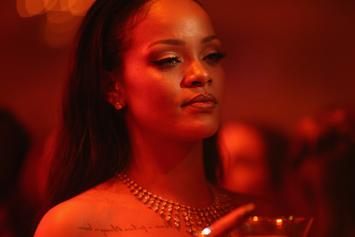 Rihanna Looks Stunning & Thick In New Fenty Lingerie Photo