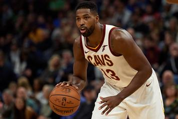 Tristan Thompson Dines With Mystery Woman Following Cheating Drama