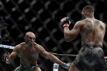 Kamaru Usman & Colby Covington Almost Come To Blows In Las Vegas Casino