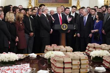 Donald Trump Treats North Dakota State Football To Fast Food Feast