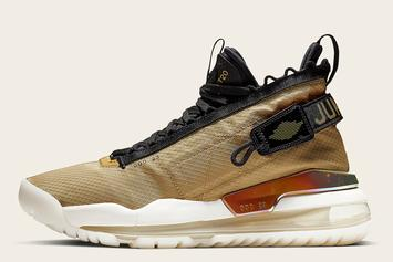 "Jordan Proto Max 720 Is Coming In A Stylish ""Gold And Black"" Colorway"