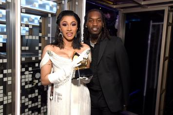 Cardi B & Offset Lounge Together On A Yacht In Mexico