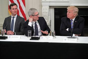"Donald Trump Introduces Apple CEO Tim Cook As ""Tim Apple"""