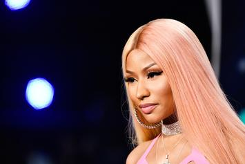 "Nicki Minaj Shows Off Her ""Cockiana"" Catwalk In Paris"