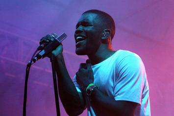 "Frank Ocean Gets ""Homo Vs. Hetero"" Tattoo On His Leg"