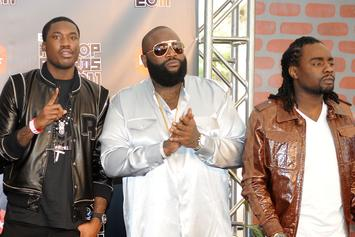 Wale Has Heat With Meek Mill & Rick Ross In The Stash