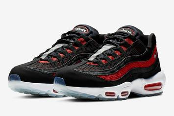 "Nike Air Max 95 Drops In Familiar ""Bred"" Colorway"