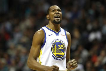 Kevin Durant Speaks Out On Warriors' 35-Point Blowout Loss To Mavericks