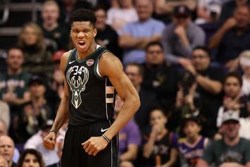Giannis Antetokounmpo Makes Little Girl Cry After Admiring Her Artwork
