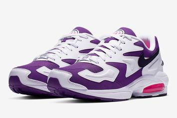 """Nike Air Max2 Light """"Purple Berry"""" Official Images & Release Info"""