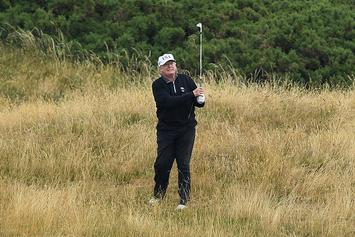 Rick Reilly's New Book Describes How Donald Trump Cheats At Golf