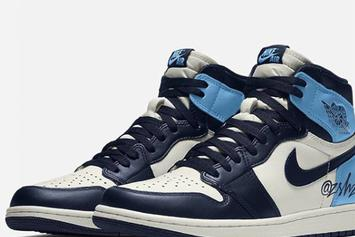 "Air Jordan 1 High OG ""UNC"" Colorway Rumored For August Release"