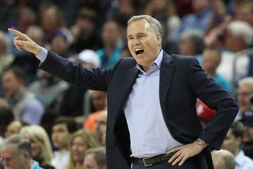Mike D'Antoni Confident Rockets Can Beat Warriors In The Playoffs