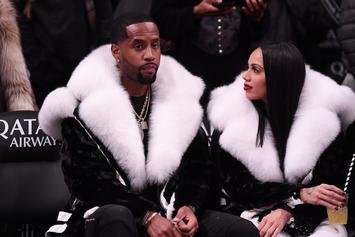 "Safaree Boasts About His Fiancee Erica Mena: ""She Looks Like This In Real Life"""