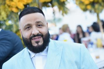 DJ Khaled Leads Spirited Chant In Nipsey Hussle's Honor
