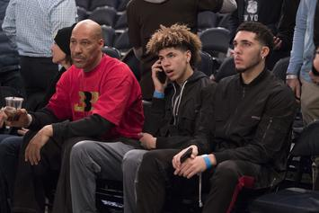 "LaVar Ball Says Zion Williamson ""Can't Hold A Candle"" To LiAngelo"