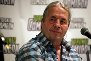 """Bret Hart On Being Attacked During WWE Hall Of Fame Speech: """"I'm Okay"""""""