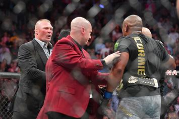 UFC Planning Brock Lesnar vs Daniel Cormier Title Fight This Summer: Report