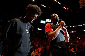Dwyane Wade's Son Recreates Iconic Commercial For Final Home Game Intro