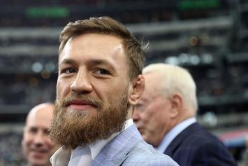 Conor McGregor Seen Smashing & Stomping Fan's Phone In New Footage