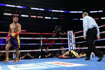 "Vasyl ""The Matrix"" Lomachenko Starches Anthony Crolla With 4th Round KO"