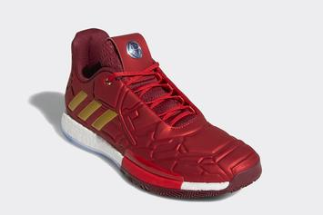 """Iron Man"" Adidas Harden Vol. 3 Release Confirmed: Official Images"