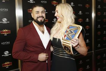 Charlotte Flair Spotted With Ring Alongside Wrestling Boyfriend Andrade