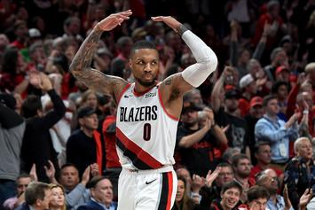 """Damian Lillard On Night Before Game 5: """"I'm Getting Rid Of These Mother F*ckers"""""""