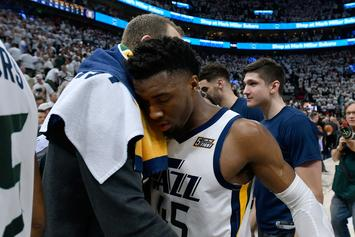"""Donovan Mitchell """"Upset"""" After Rockets Series: """"I'm Going To Be Better"""""""
