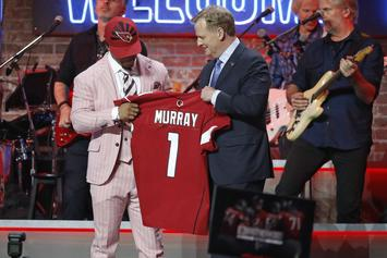 """Kyler Murray Drafted First Overall By The Arizona Cardinals: """"I Cannot Wait"""""""