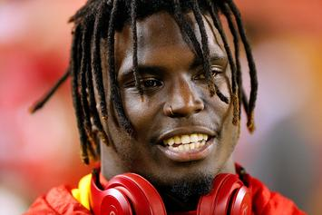 Chiefs' Tyreek Hill Banned From All Team Activities: Report