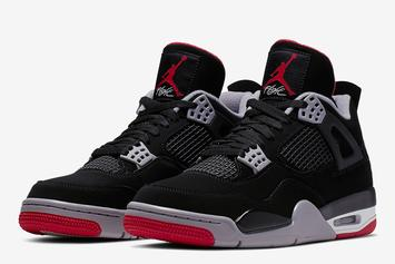 "Air Jordan 4 ""Bred"" Rumored To Have Tons Of Stock, Drops Saturday"