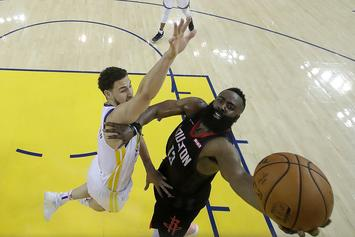 Rockets Claim Referees Robbed Them Of An NBA Title In 2018