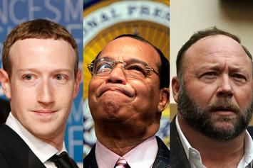 "Facebook Bans Louis Farrakhan, ""InfoWars"" Alex Jones For Being ""Dangerous"""