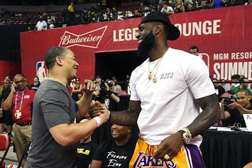 Ty Lue Celebrates 42nd Birthday With Lakers-Themed Cake