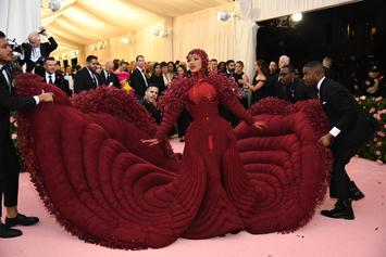 Cardi B Says Her Met Gala Gown Was Inspired By Feminism