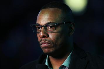 "Paul Pierce Farts On Michelle Beadle: ""We're Trapped In A Room, Y'all"""