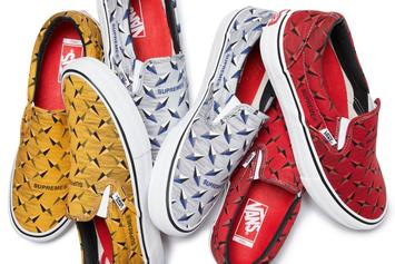 "Supreme x Vans ""Diamond Plate"" Collection Drops Today: Official Images"