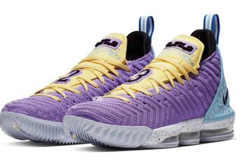 "Nike LeBron 16 ""Lakers"" Coming Soon: Official Photos, Details"
