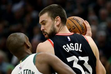Marc Gasol Blames Himself For Raptors' Abysmal Performance In Game 2
