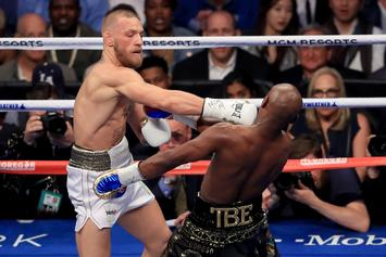 "Conor McGregor Gunning For Floyd Mayweather Rematch: ""I Would Win"""