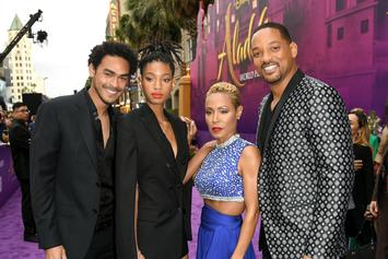 """Aladdin"" Premier Has The Whole Smith Family Showing Up And Looking Fresh"