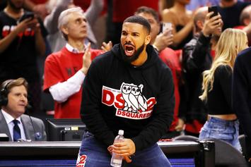 "Drake Casually Responds To Reports That His Courtside Antics Are ""Disrespectful"""